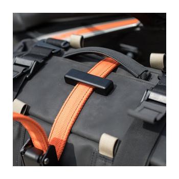 фото 3 Аксессуары для транспортировки Стропы с вмонтированными тросами STEELCORE Security Strap - Orange