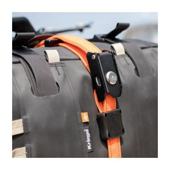 фото 4 Аксессуары для транспортировки Стропы с вмонтированными тросами STEELCORE Security Strap - Orange
