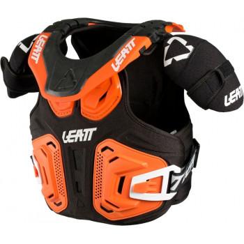 фото 1 Моточерепахи Детская защита тела и шеи Leatt Fusion Fusion vest 2.0 Orange L/XL