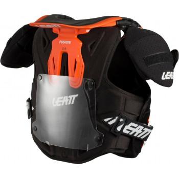 фото 6 Моточерепахи Детская защита тела и шеи Leatt Fusion Fusion vest 2.0 Orange L/XL