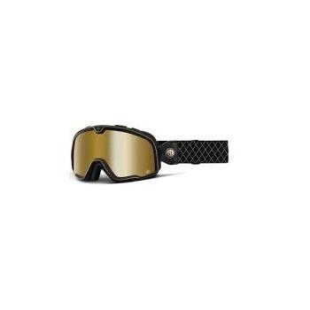 фото 1 Кроссовые маски и очки Мото очки 100% BARSTOW Goggle Roland Sands - True Gold Mirror Lens