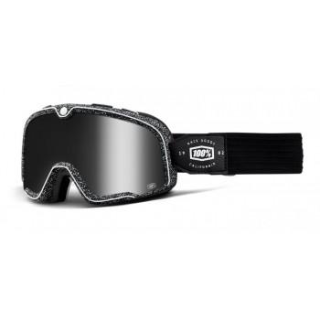 фото 1 Кроссовые маски и очки Мото очки 100% BARSTOW Goggle Noise - Silver Mirror Lens