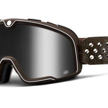 фото 1 Кроссовые маски и очки Мото очки 100% BARSTOW Goggle Garage - Silver Mirror Lens