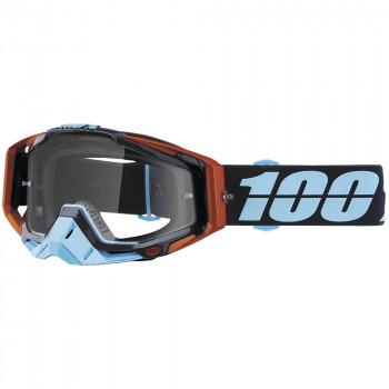 фото 1 Кроссовые маски и очки Мото очки 100% RACECRAFT Goggle Ergono - Clear Lens