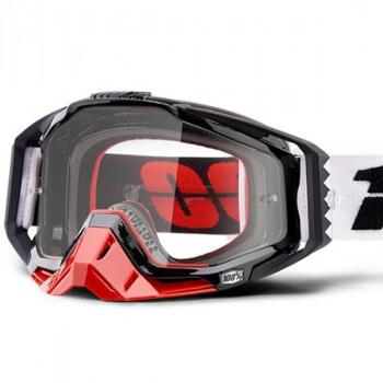 фото 1 Кроссовые маски и очки Мото очки 100% RACECRAFT Goggle Marigot - Clear Lens