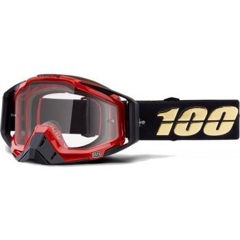 фото 1 Кроссовые маски и очки Мото очки 100% RACECRAFT Goggle Hot Rod - Clear Lens