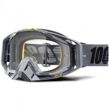 фото 1 Кроссовые маски и очки Мото очки 100% RACECRAFT Goggle Nardo - Clear Lens