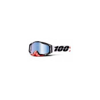 фото 1 Кроссовые маски и очки Мото очки 100% RACECRAFT Goggle Marigot - Mirror Blue Lens