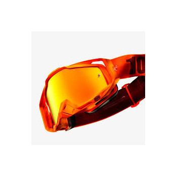 фото 1 Кроссовые маски и очки Мото очки 100% RACECRAFT Goggle Menlo - Mirror Red Lens
