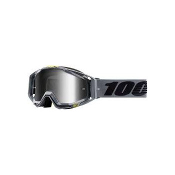 фото 1 Кроссовые маски и очки Мото очки 100% RACECRAFT Goggle Nardo - Mirror Silver Lens