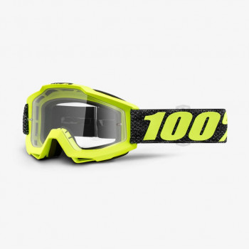 фото 1 Кроссовые маски и очки Мото очки 100% ACCURI Goggle Tresse - Clear Lens