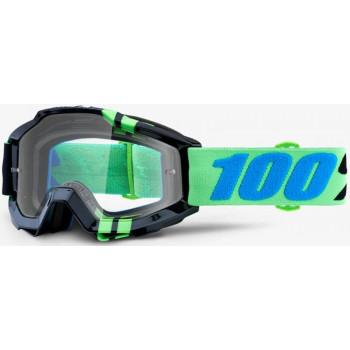 фото 1 Кроссовые маски и очки Мото очки 100% ACCURI Goggle Zerg - Clear Lens