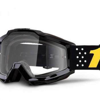 фото 1 Кроссовые маски и очки Мото очки 100% ACCURI Goggle Pistol - Clear Lens