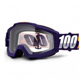 фото 1 Кроссовые маски и очки Мото очки 100% ACCURI Goggle Grib - Clear Lens