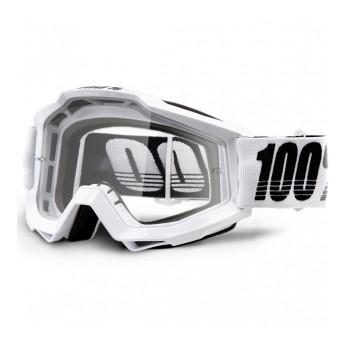 фото 1 Кроссовые маски и очки Мото очки 100% ACCURI Goggle Galactica - Clear Lens