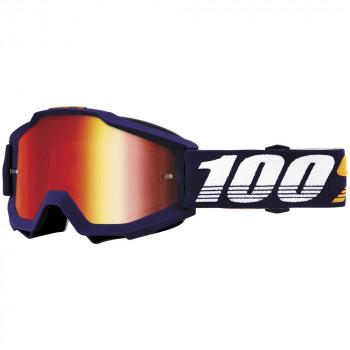 фото 1 Кроссовые маски и очки Мото очки 100% ACCURI Goggle Grib - Mirror Red Lens