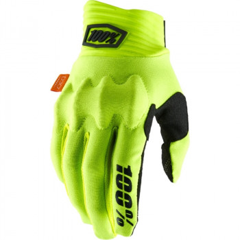 фото 1 Мотоперчатки Мотоперчатки 100% Cognito Glove Fluo Yellow-Black S (8)