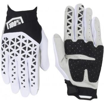 фото 2 Мотоперчатки Мотоперчатки 100% Airmatic Glove Black-White-Silver XL (11)