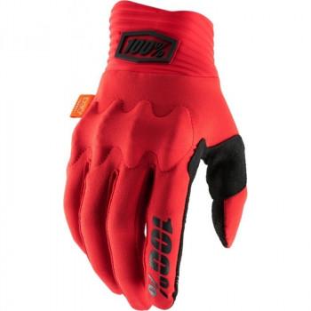 фото 1 Мотоперчатки Мотоперчатки 100% Cognito Glove Red-Black M (9)