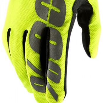 фото 3 Мотоперчатки Мотоперчатки 100% Hydromatic Waterproof Glove Neon Yellow S (8)