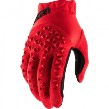 фото 1 Мотоперчатки Мотоперчатки 100% Airmatic Glove Red-Black M (9)