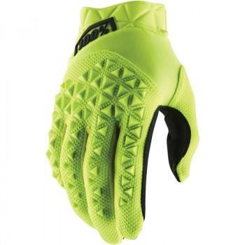фото 1 Мотоперчатки Мотоперчатки 100% Airmatic Glove Fluo Yellow-Black XL (11)