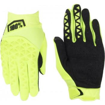 фото 2 Мотоперчатки Мотоперчатки 100% Airmatic Glove Fluo Yellow-Black XL (11)