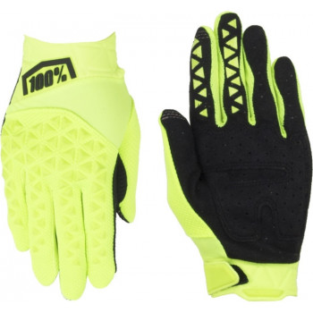 фото 2 Мотоперчатки Мотоперчатки 100% Airmatic Glove Fluo Yellow-Black L (10)