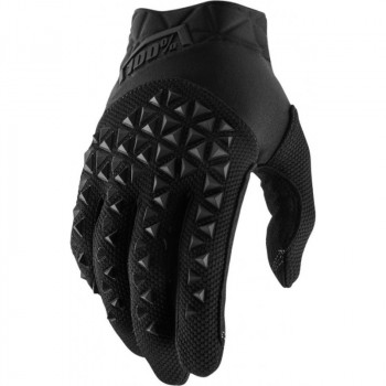 фото 1 Мотоперчатки Мотоперчатки 100% Airmatic Glove Black-Charcoal XL (11)