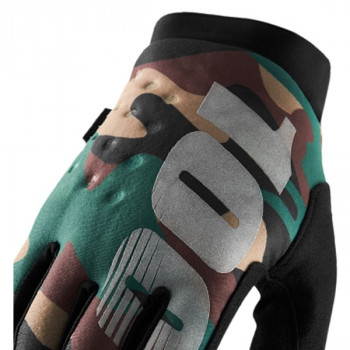 фото 3 Мотоперчатки Мотоперчатки 100% Brisker Cold Weather Camo-Black XL (11)