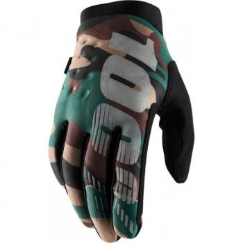 фото 1 Мотоперчатки Мотоперчатки 100% Brisker Cold Weather Camo-Black L (10)