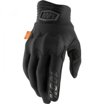 фото 1 Мотоперчатки Мотоперчатки 100% Cognito Glove Black-Charcoal L (10)