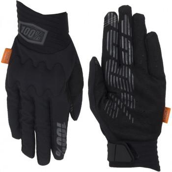 фото 3 Мотоперчатки Мотоперчатки 100% Cognito Glove Black-Charcoal L (10)