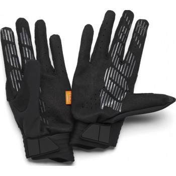 фото 2 Мотоперчатки Мотоперчатки 100% Cognito Glove Black-Charcoal XL (11)