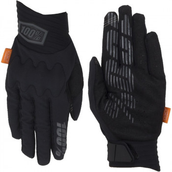 фото 3 Мотоперчатки Мотоперчатки 100% Cognito Glove Black-Charcoal XL (11)