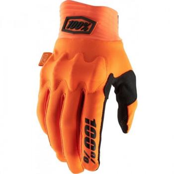 фото 1 Мотоперчатки Мотоперчатки 100% Cognito Glove Fluo Orange-Black XL (11)