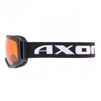 фото 2 Горнолыжные и сноубордические маски Маска лыжная Axon swing black frame orange