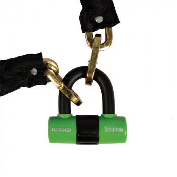фото 1 Мотозамки Мотозамок-цепь Oxford ScootChain-Heavy duty chain & padlock  1,4 mtr x 9.5mm SQ