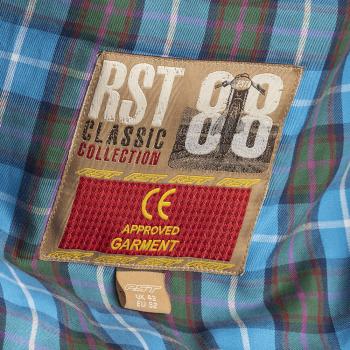 фото 5 Мотокуртки Мотокуртка RST Classic TT Wax Short III CE Mens Textile Jacket Black 50