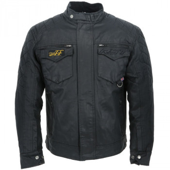 фото 1 Мотокуртки Мотокуртка RST Classic TT Wax Short III CE Mens Textile Jacket Black 52