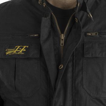 фото 4 Мотокуртки Мотокуртка RST Classic TT Wax Short III CE Mens Textile Jacket Black 54