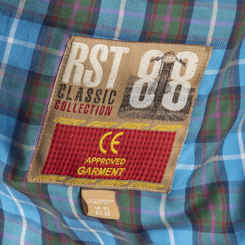 фото 5 Мотокуртки Мотокуртка RST Classic TT Wax Short III CE Mens Textile Jacket Black 54