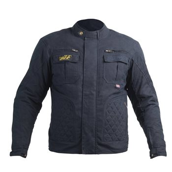 фото 1 Мотокуртки Мотокуртка RST Classic TT Wax Short III CE Mens Textile Jacket Navy 50