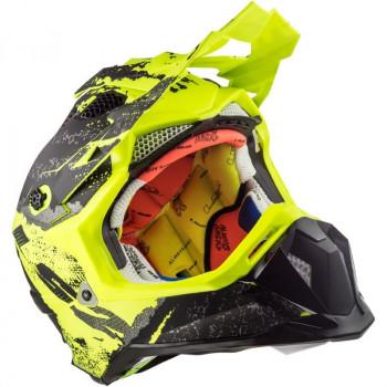 фото 8 Мотошлемы Мотошлем LS2 MX470 Subverter Claw Matt Black-H-V Yellow M