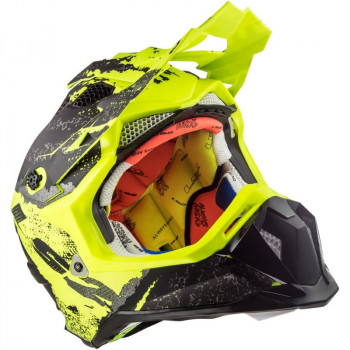 фото 8 Мотошлемы Мотошлем LS2 MX470 Subverter Claw Matt Black-H-V Yellow XL