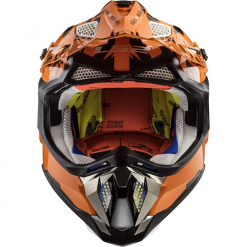 фото 2 Мотошлемы Мотошлем LS2 MX470 Subverter Emperor Black-Orange XL