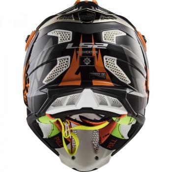 фото 6 Мотошлемы Мотошлем LS2 MX470 Subverter Emperor Black-Orange XL