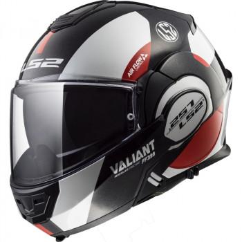 фото 1 Мотошлемы Мотошлем LS2 FF399 Valiant Avant White-Black-Red XL