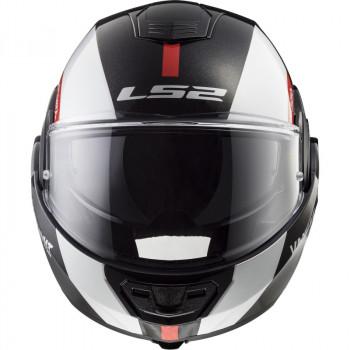 фото 2 Мотошлемы Мотошлем LS2 FF399 Valiant Avant White-Black-Red XL