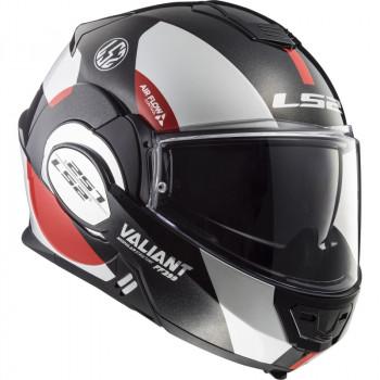 фото 3 Мотошлемы Мотошлем LS2 FF399 Valiant Avant White-Black-Red XL